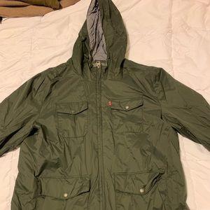 Levi's Rain Jacket - Green XL